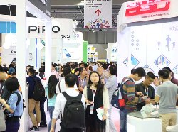 Source at 8,000 booths in October