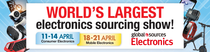 World`s largest electronics sourcing show!