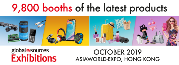 9,800 booths of the latest products October 2019 | AsiaWorld-Expo, Hong Kong