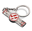 Customizable metal keychains